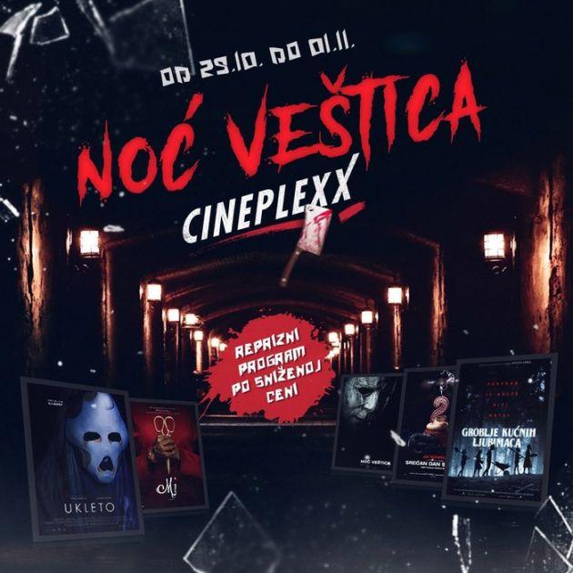 Horor filmovi po sniženim cenama u Cineplexx Promenadi