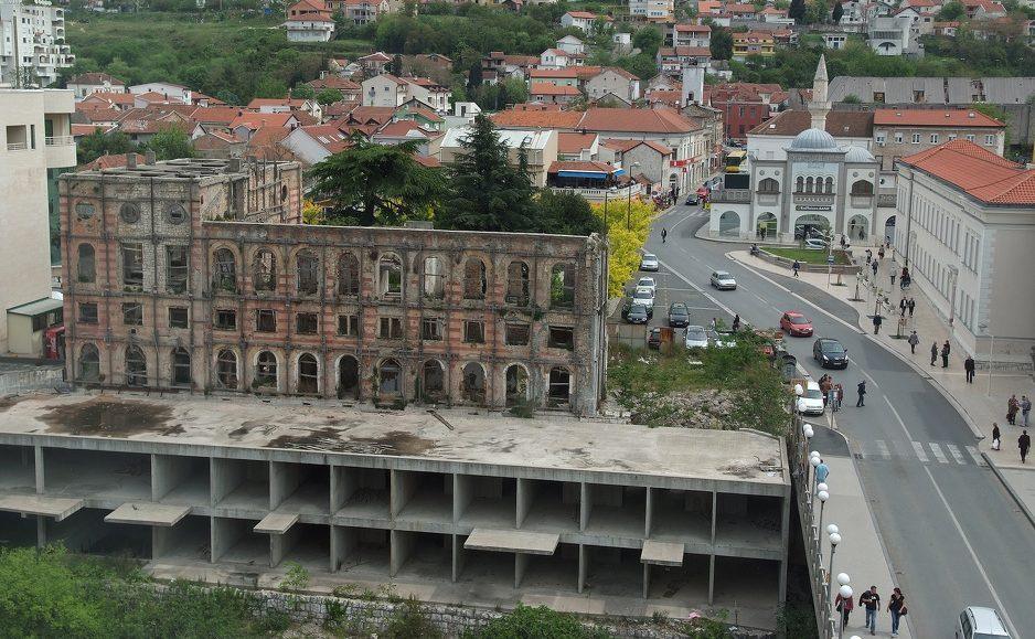 Hotel Neretva u Mostaru napokon dobiva krov, otvorenje planirano 2021. godine