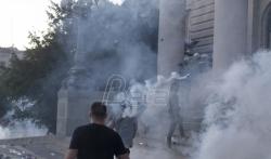 Hrvatske NVO pred Ambasadom Srbije izrazile solidarnost s nenasilnim protestima