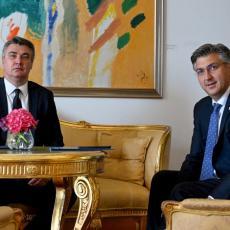 Hrvatski predsednik ponovo briljira, poručio Plenkoviću: GOSPODO, KONAČNO SE OTELITE