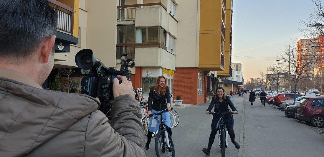 Humana vožnja biciklima od Novog Sada do Zagreba