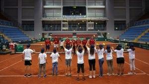 Humanitarna akcija Dejvis kup reprezentativaca Srbije