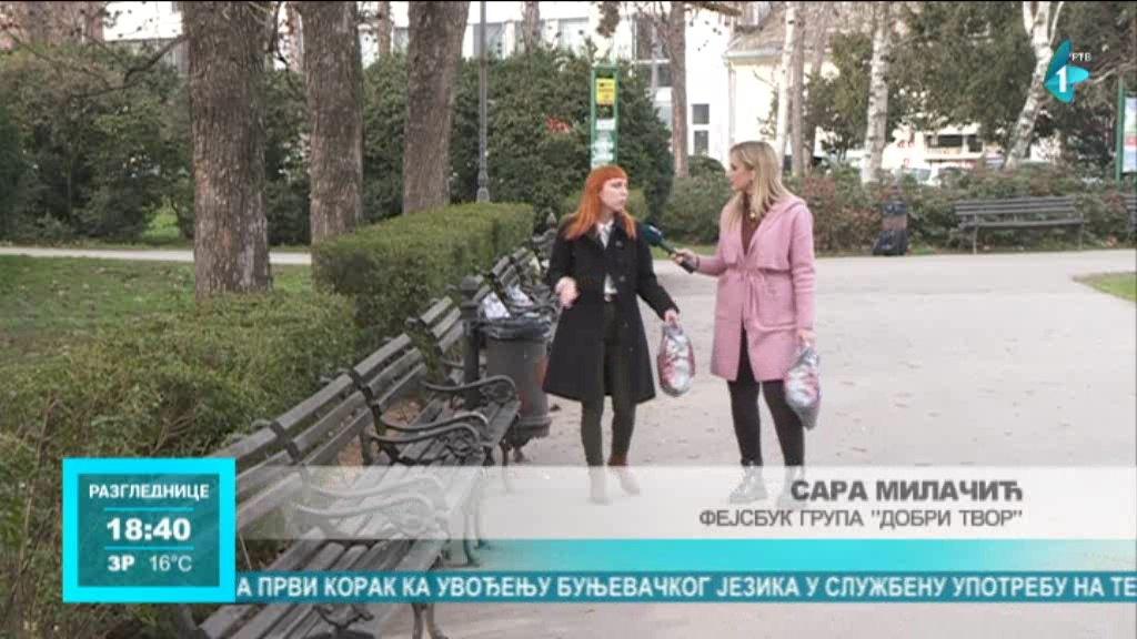Humanitarna akcija Dobri tvor u Novom Sadu