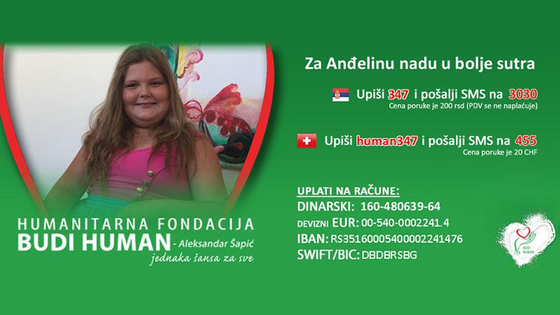 Humanitarni bazar u Boru za Anđelu Dimitrijević