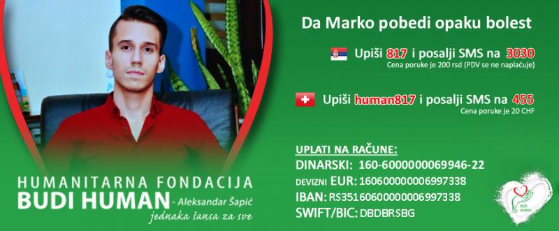 Humanitarni bazar u Nišu za lečenje Marka Mladenovića, nedostaje skoro 7000 evra