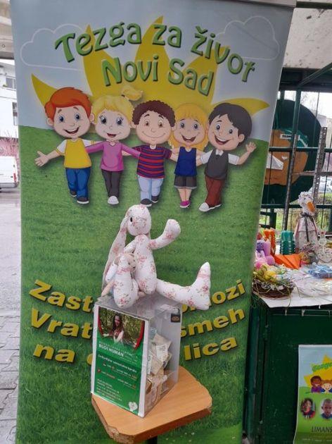 Humanitarni bazar za pomoć bolesnoj deci u Novom Sadu