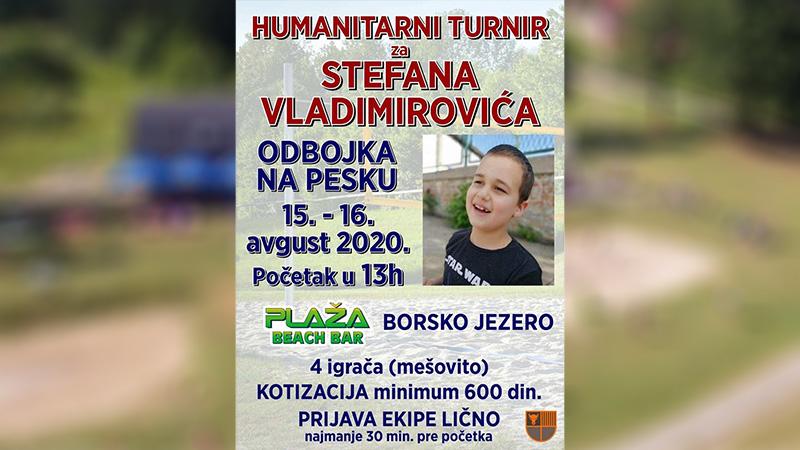 Humanitarni turnir za Stefana Vladimirovića na Borskom jezeru [NAJAVA]