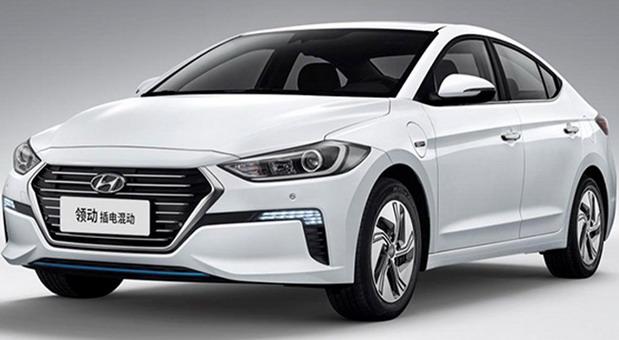 Hyundai Elantra plug-in hybrid