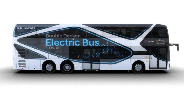 Hyundai predstavio svoj prvi električni autobus na sprat FOTO