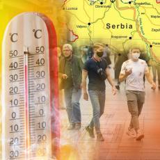 I DANAS SMENA TROPSKIH TEMPERATURA I KIŠE: Temperatura do 32 stepena, a pogledajte kakvo nas vreme čeka za vikend
