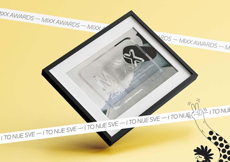 I TO NIJE SVE! kreativna agencija osvojila MIXX za Best Branded Content  i Srebro na Ideji X