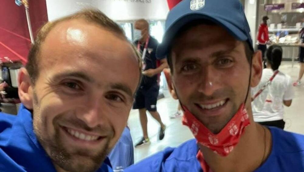 I TUKA UHVATIO NOVAKA: Idem ti ja olimpijskim selom, kad čujem neko govori: Pa gde si ti? Glavom i bradom Đoković
