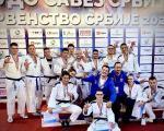 I juniori najbolji u zemlji - 10 medalja za Džudo klub Kinezis na Prvenstvu Srbije