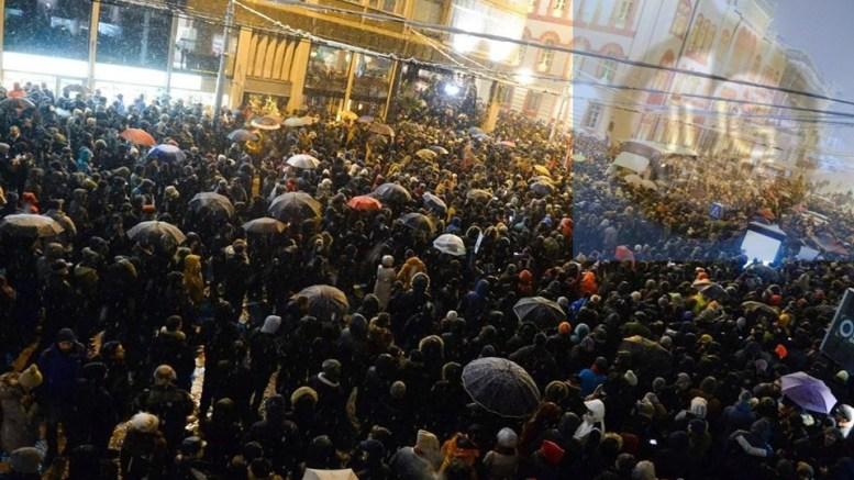 I ljudi sa juga Srbije na protestu u Beogradu