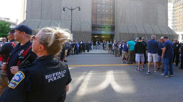 I policajci protestuju u SAD