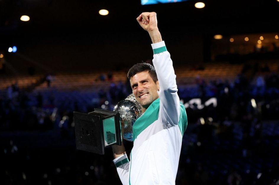 IDEMOOOOOOOO! NOVAK ĐOKOVIĆ OBORIO SVETSKI REKORD: Srbin započeo rekordnu 311. nedelju na vrhu ATP liste! IMPRESIVNO!