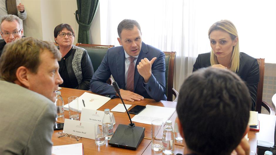 IMF delegation discusses Serbia's tax system with minister