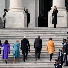 INAUGURACIJA MOŽE DA POČNE: Stigli Bajden i Haris, tu su i bivši predsednici SAD (VIDEO)
