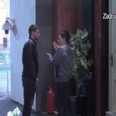 INCIDENT ISPRED KAZINA: Saška i Zola ponovo u SUKOBU, treslo se sve od njihove rasprave! (VIDEO)