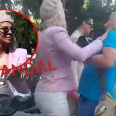 INCIDENT ISPRED SUDA: Karleuša gurnula fotografa - UHVATILA GA ZA VRAT, ODLETEO NAZAD! Sramno! (VIDEO)