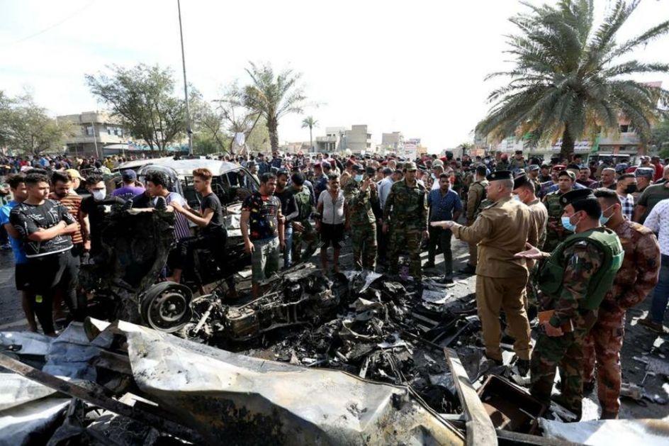 ISLAMSKA DRŽAVA I DALJE SEJE SMRT: Teroristi preuzeli odgovornost za bombaški napad u Bagdadu!