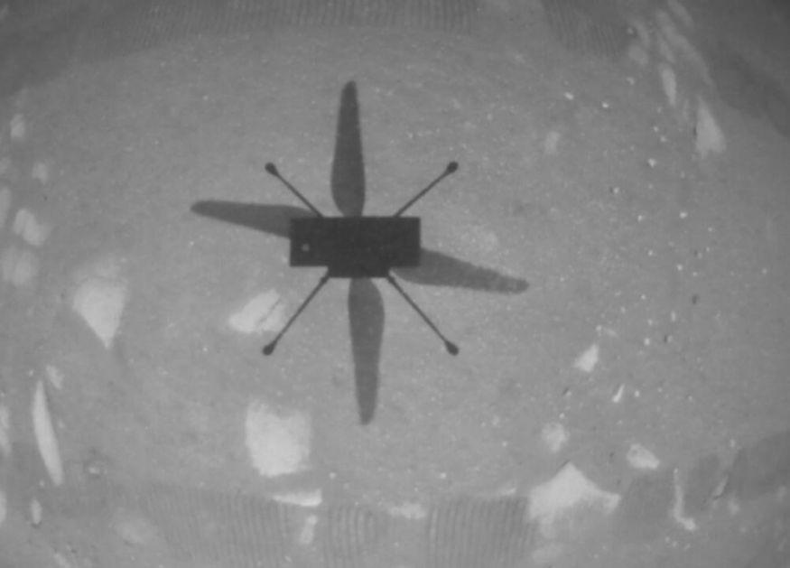 ISTORIJSKI TRENUTAK Prvi let helikoptera iznad površine Marsa FOTO