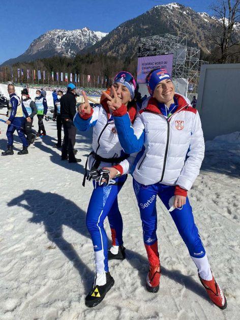 ISTORIJSKI USPEH SRBIJE: Drndić i Ilić zauzele 21. mesto u timskom sprintu na Svetskom prvenstvu! FOTO