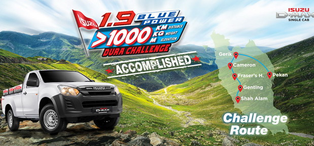 ISUZU D-Max Dura Challenge – potvrda efikasnosti 1.9 Ddi motora