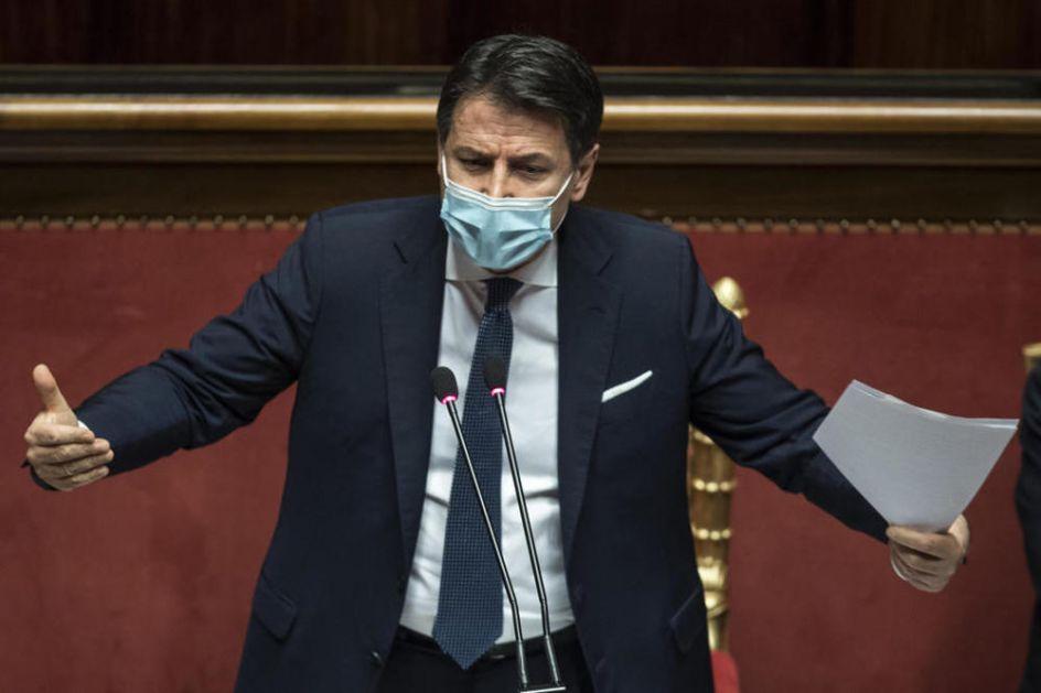 ITALIJANSKI MEDIJI: Premijer Đuzepe Konte podneo ostavku, jutros saopštio odluku članovima vlade