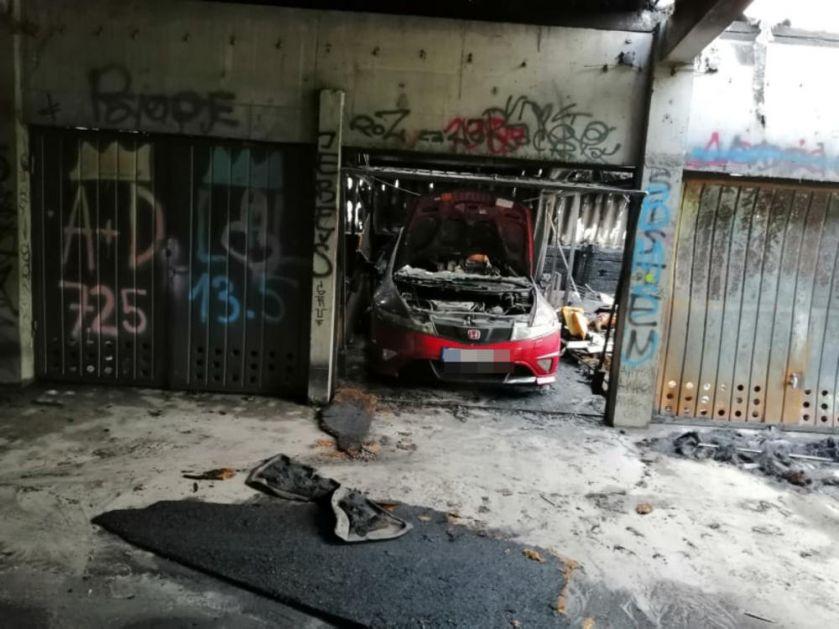 IZGORELE GARAŽE U CENTRU SUBOTICE: Vatrena stihija gutala sve pred sobom, odjekivale EKSPLOZIJE, a ljudi strahovali da vatra ne zahvati i kuće!(VIDEO)