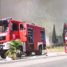 IZGOREO SPORTSKI CENTAR: Meštani osetili miris paljevine, pa ih uznemirila i eksplozija (VIDEO)