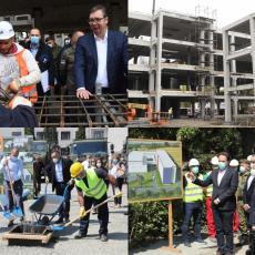IZGRADNJA U REKORDNOM ROKU – Za četiri meseca završena gradnja dve kovid bolnice u Zemunu i Kruševcu! (FOTO)