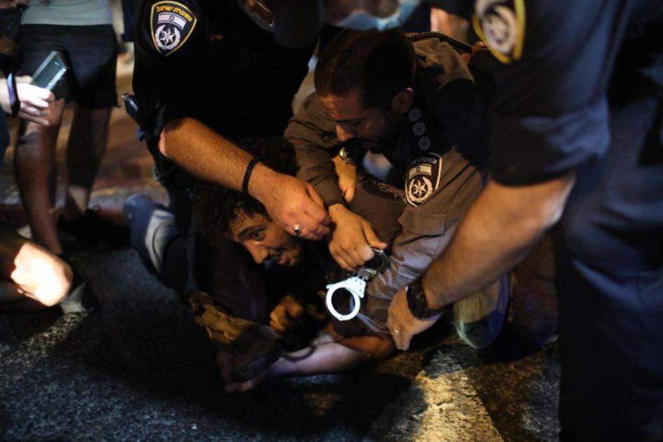 IZRAELCI OČAJNI: Hiljade ljudi na protestu zbog ekonomske katastrofe usled epidemije korone! (FOTO)