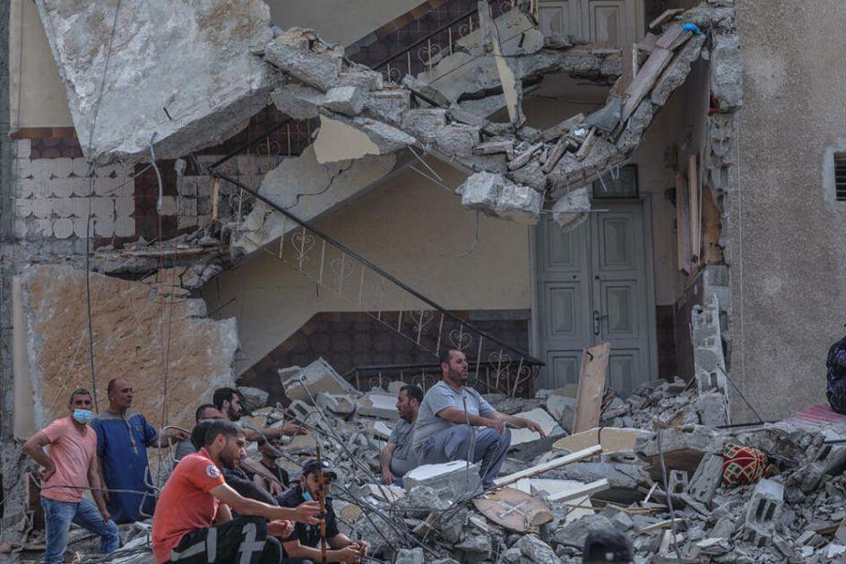IZRAELSKA OFANZIVA NA GAZU: Serija masivnih vazdušnih udara na više lokacija, broj žrtava raste a Netanjahu objavio rat Hamasu