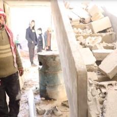 IZRAELSKE BOMBE NE ŠTEDE NI DECU! Sirijski civili gađani iz vazduha, krv je obojila Masijaf (VIDEO)