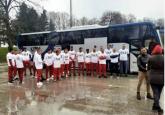 Igrači Borca klečali i poslali poruku FSS: 1X2 VIDEO/FOTO