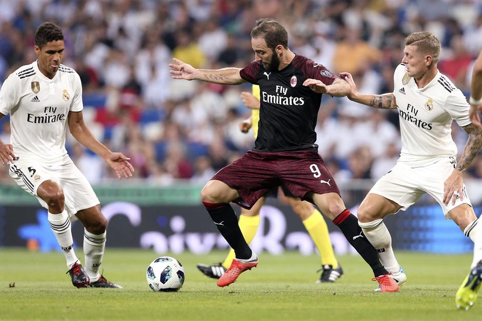 Iguain se upisao u Madridu, a Real je ostao jak