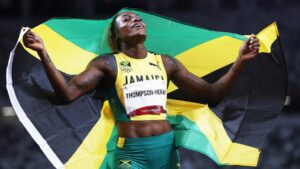 Ilejn Tompson postavila novi olimpijski rekord u trci na 100 metara
