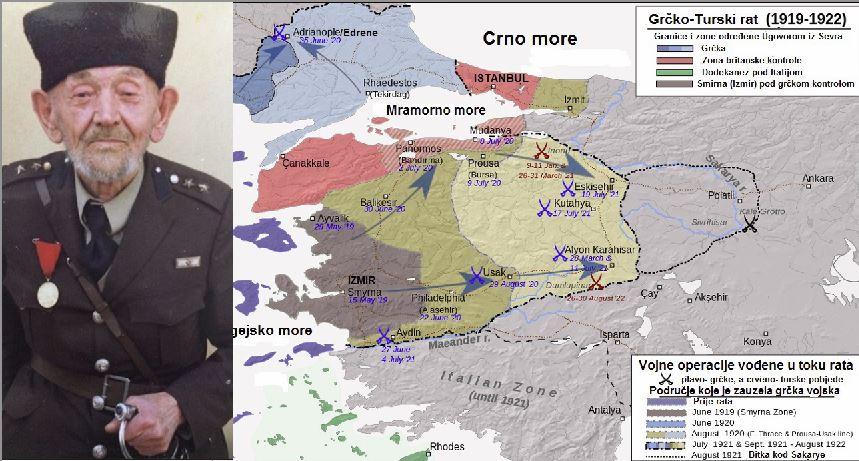 Iljaz (Kos) Ješilaj- Sandžaklija koji je, u Oslobodilačkom ratu Turske, zarobio grčkog generala Trikupisa