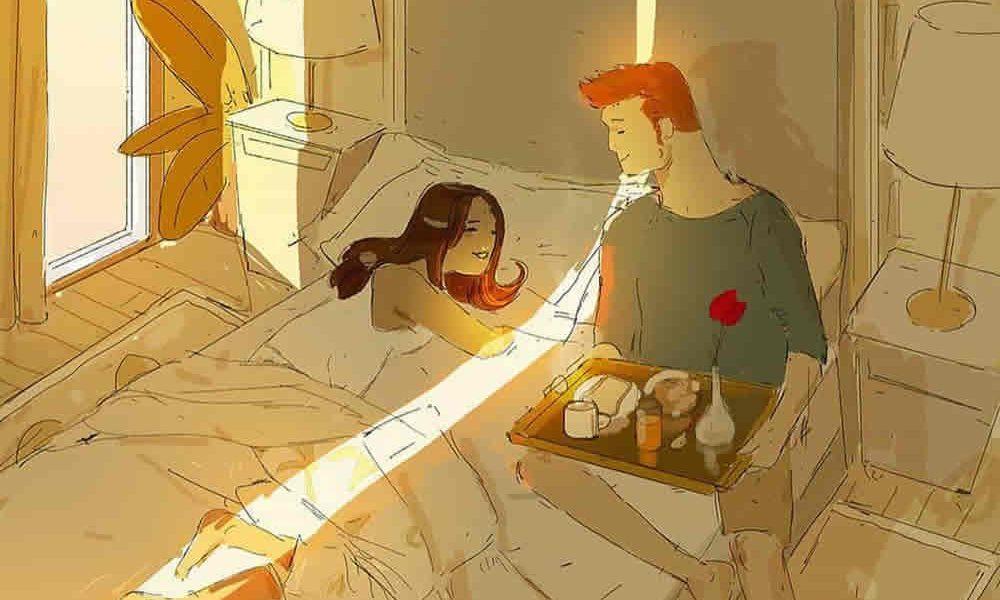 Ilustracije ljubavi koje će ulepšati vaš dan