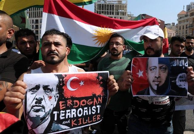 Incident na protestu Kurda u Salcburgu, ima povređenih