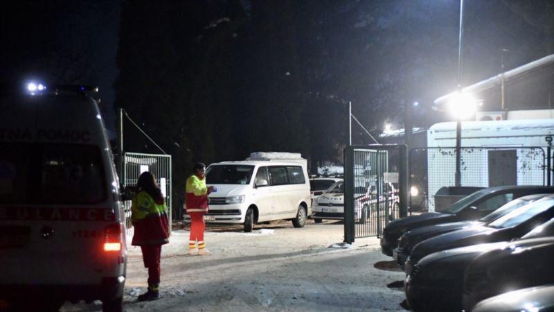 Policajci i uposlenik IOM-a povrijeđeni u incidentu u migrantskom kampu kod Sarajeva