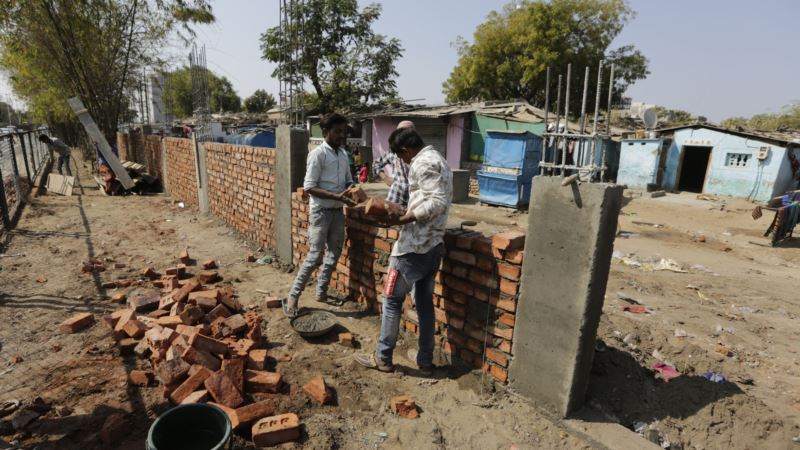 Indija gradi zid uoči Trampove posete