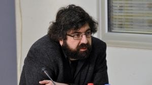 Inicijativa Ne da(vi)mo Beograd želela da uđe na sastanak, obezbeđenje nije dozvolilo