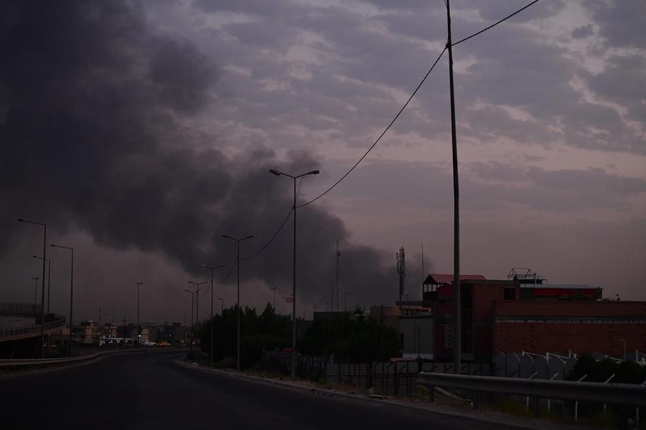 Irak: Napad bespilotnom letelicom na vazduhoplovnu bazu