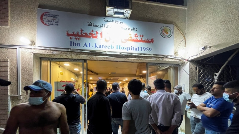 Zbog požara u bolnici smenjen ministar zdravlja Iraka