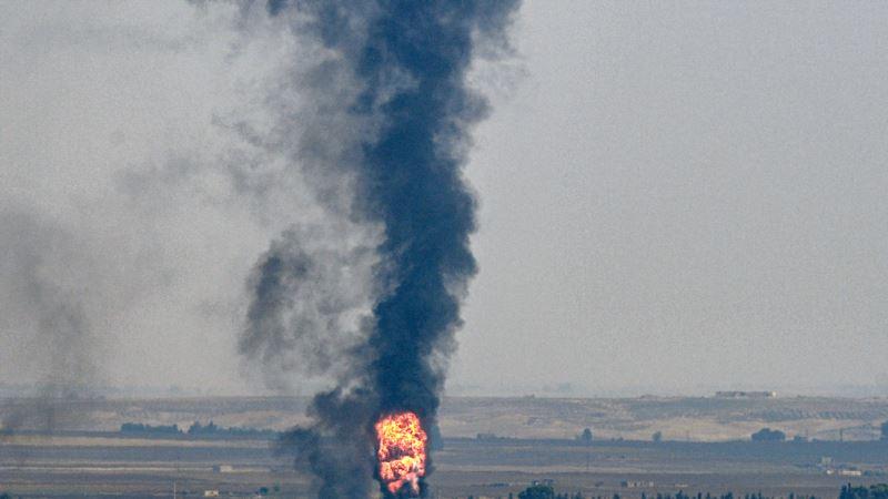 Iran protiv turskih vojnih položaja u Siriji