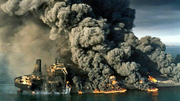 Iranski tanker potonuo, nema nade za mornare