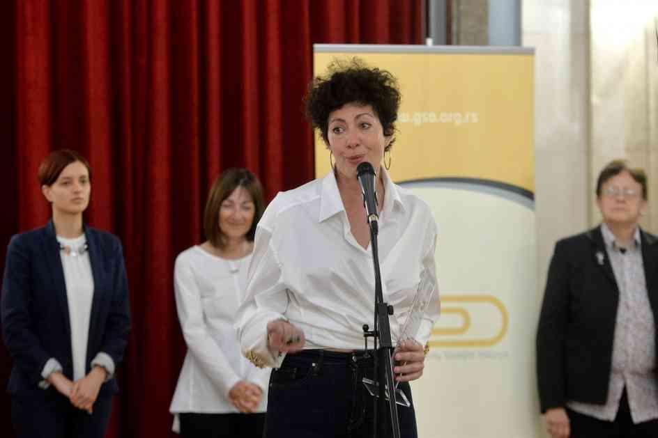 Irena Mišović dobitnica nagrade Duga