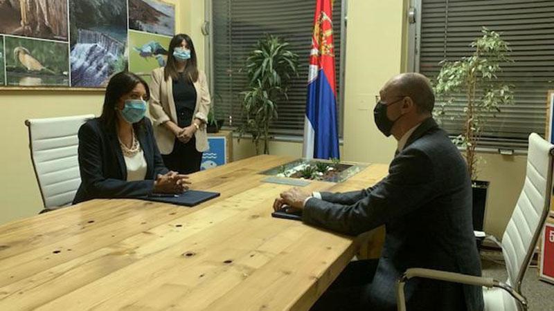 Irena Vujović preuzela resor Ministarstva zaštite životne sredine